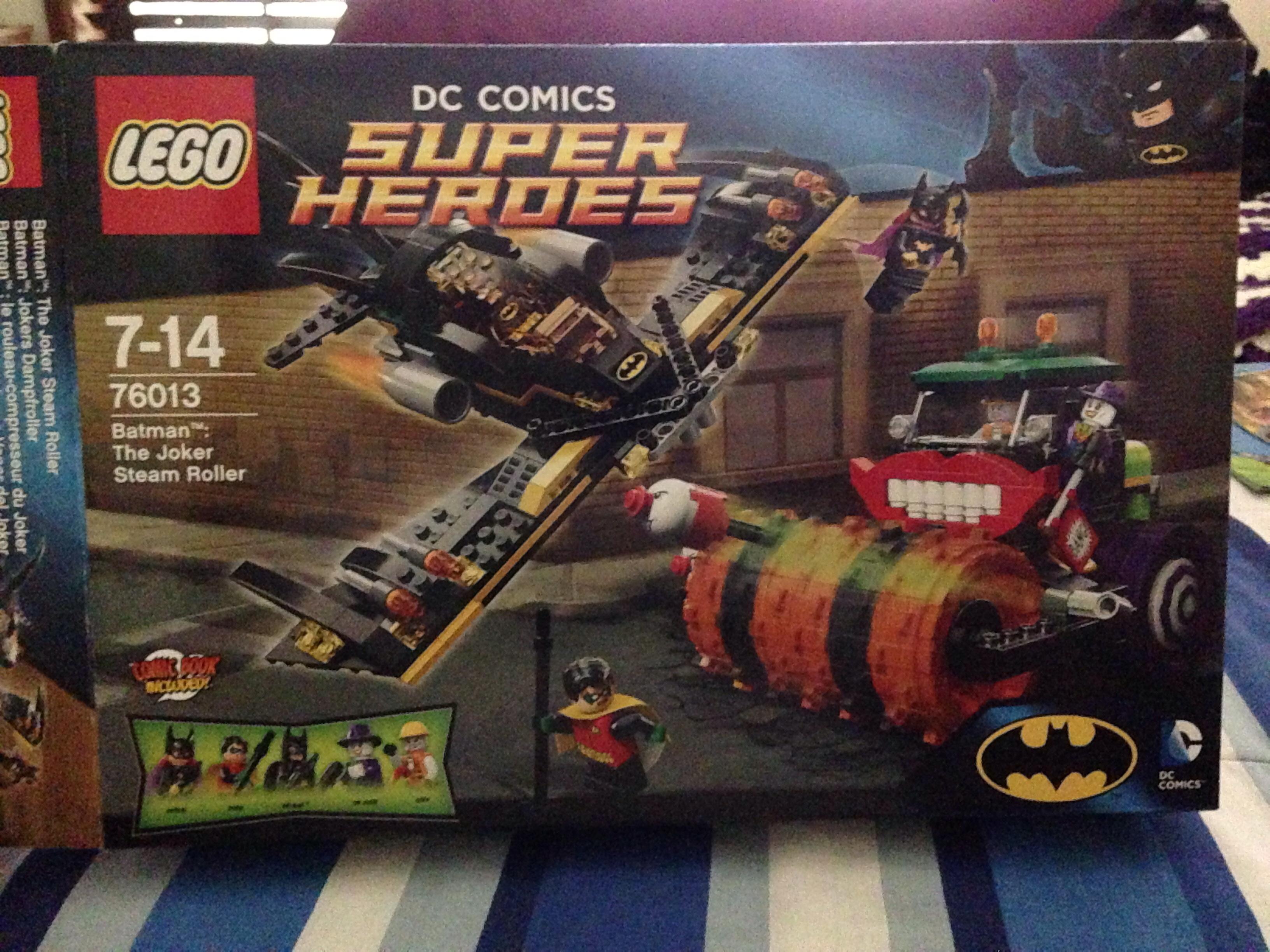 Lego Batman Sets 2014: LEGO Batman: The Joker Steam Roller REVIEW