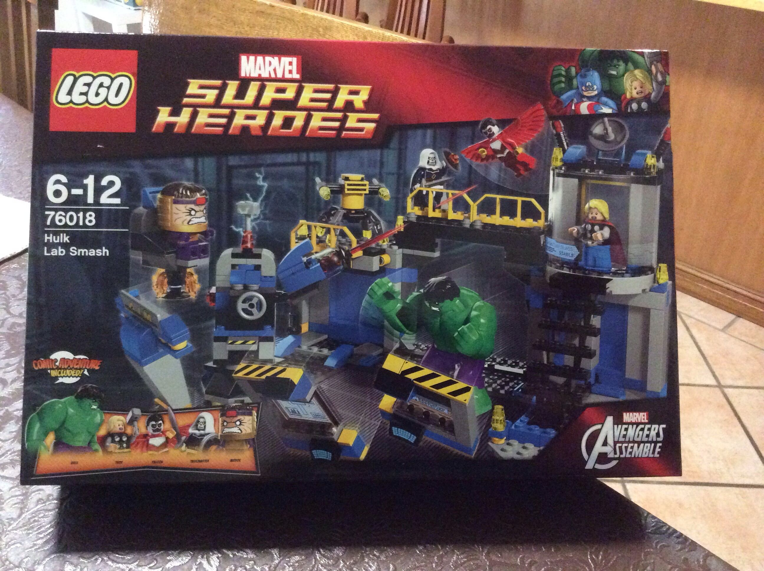 marvel lego big w