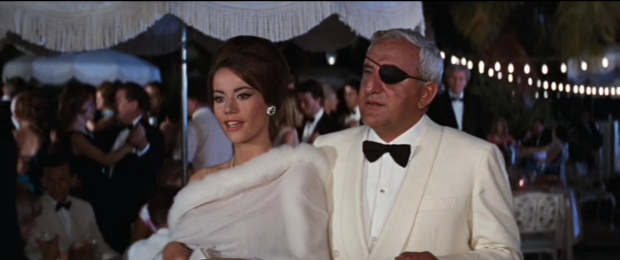 """""""You must tell me what Mr. Bond had to say. Word for word."""""""