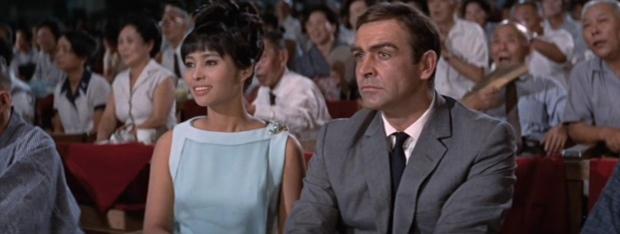 Aki and James Bond