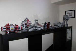 my top shelf LEGO Star Wars builds. Can you name them all?