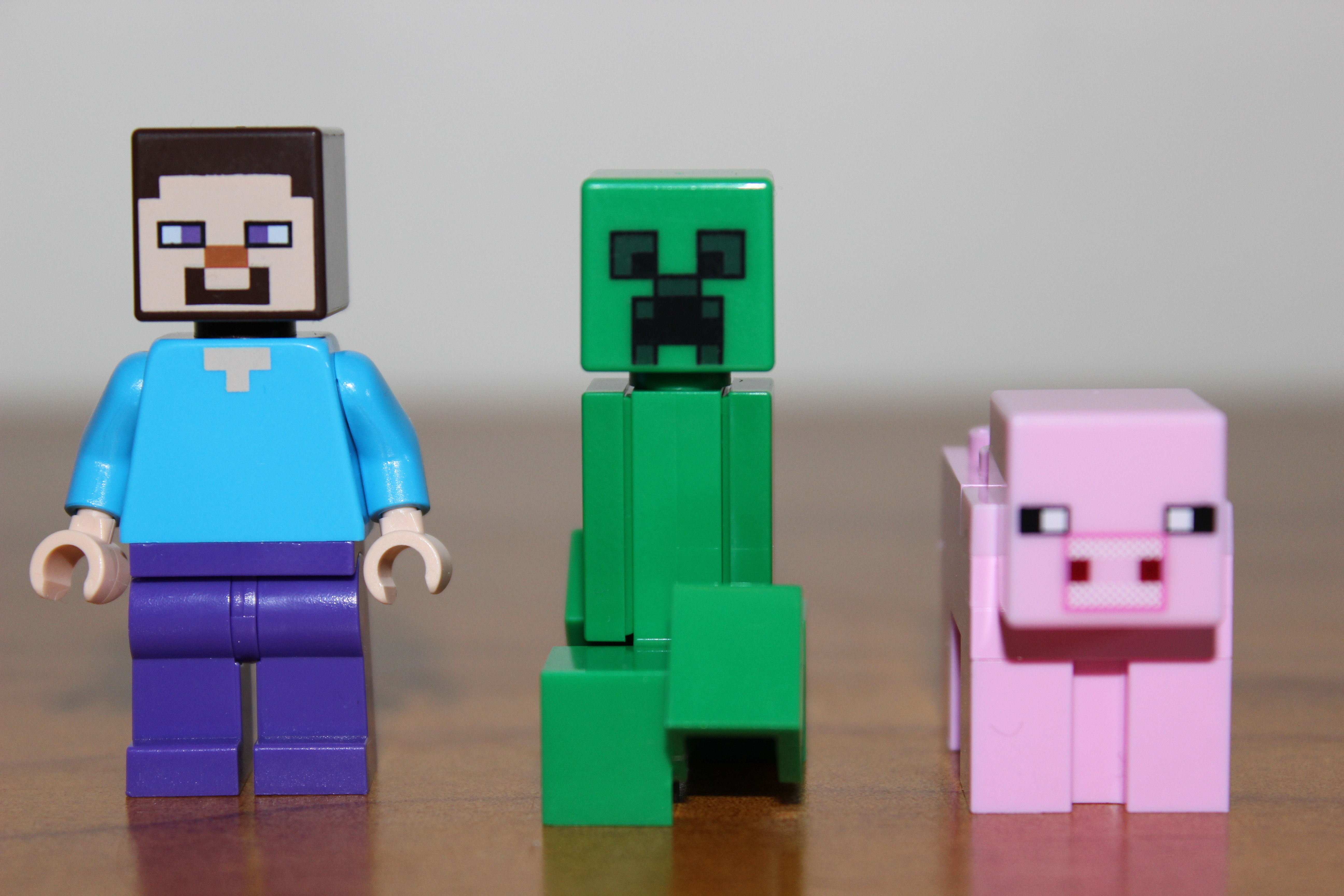 Lego minecraft the first night 21115 review truthfulnerd - Minecraft creeper and steve ...