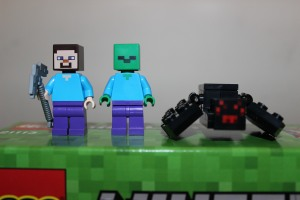 Steve, Zombie and Spider