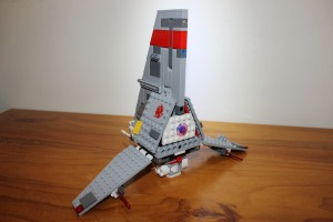Rear view of the T-16, a little bare to be honest