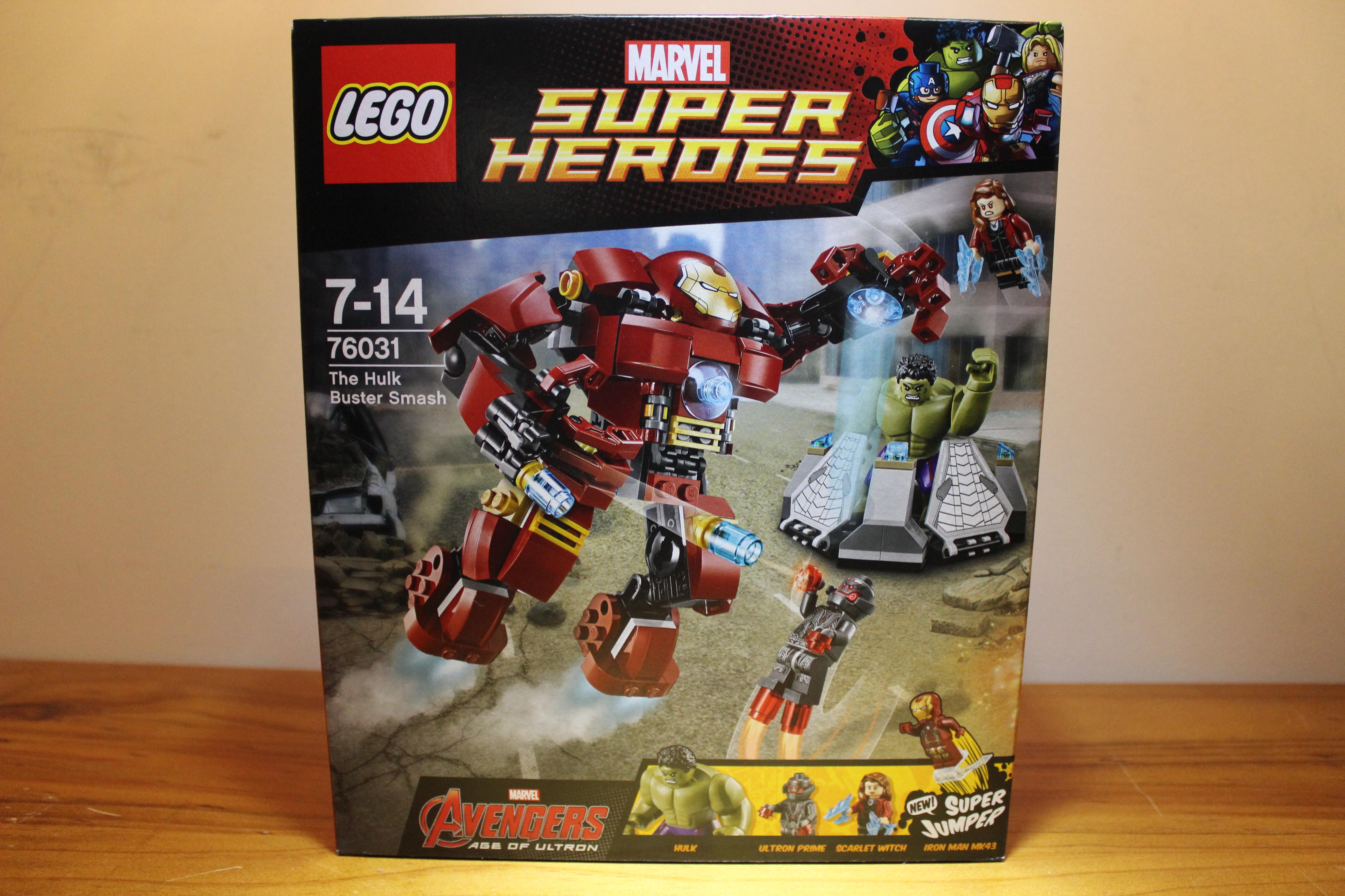 Lego The Hulk Buster Smash Review - Set 76031 - YouTube