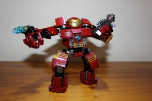 Hulk Buster with Ultron Prime. Very flexible.