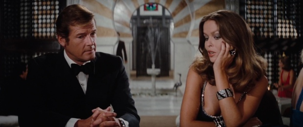 Barbara Bach looks drop dead gorgeous throughout the film