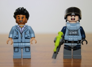 Front view of the mini figures. You can see all the detail on both