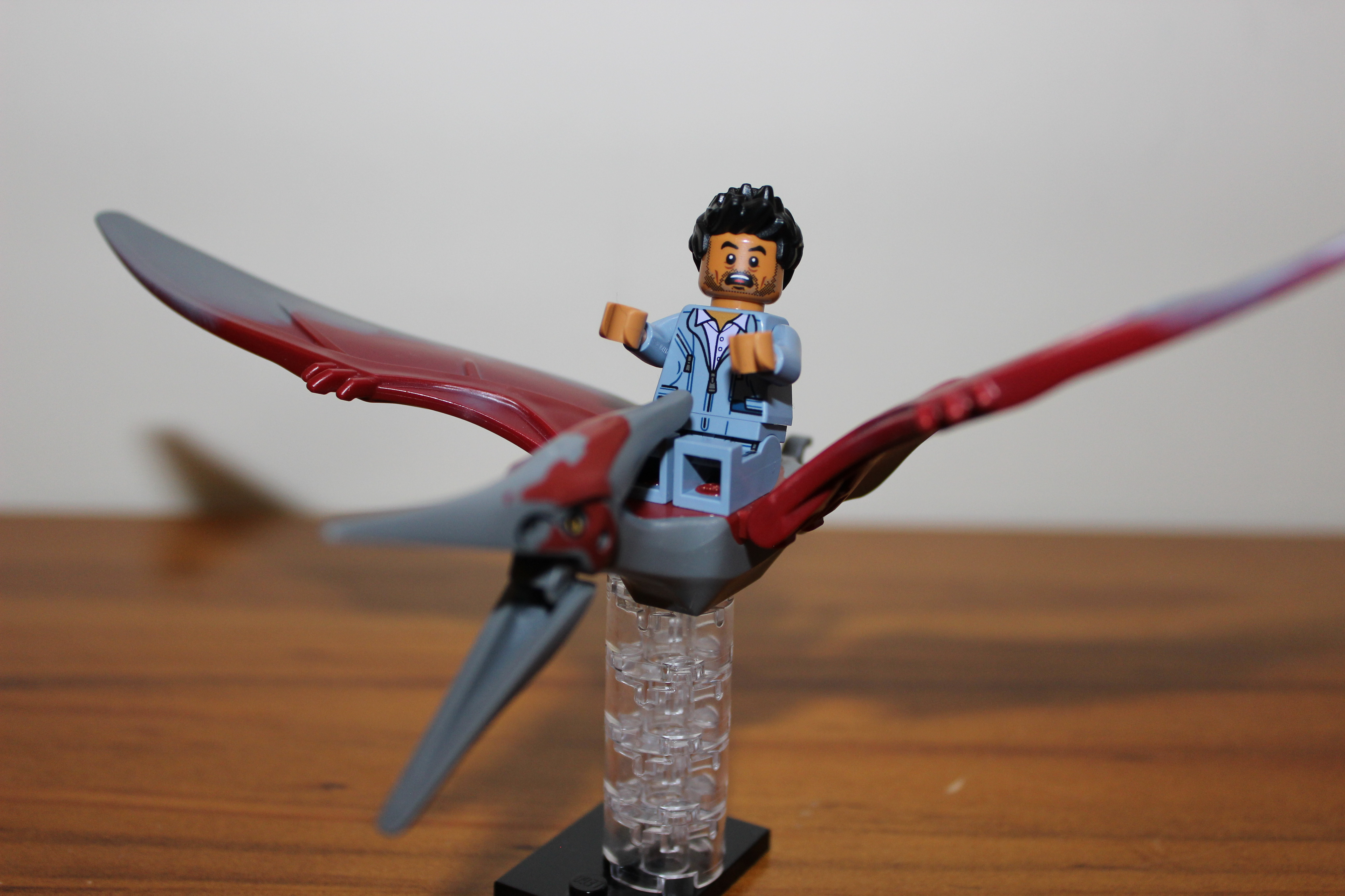make a flying helicopter with Lego Jurassic World Pteranodon Capture 75915 Review on Panfu Vs Club Penguin also When It  es To Flight Suits together with Ornithopters Making Maximally Efficient Man Made Wings further Five Dovers C 5m Airlifters Cleared Flying Issue Ball Screw moreover Watch.
