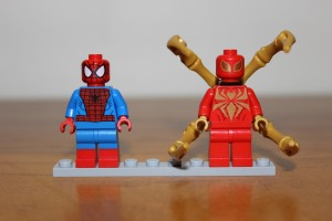 Spider-Man and Iron Spider