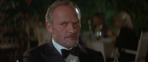 Once a James Bond contender, Julian Glover gives a great performance as Kristatos