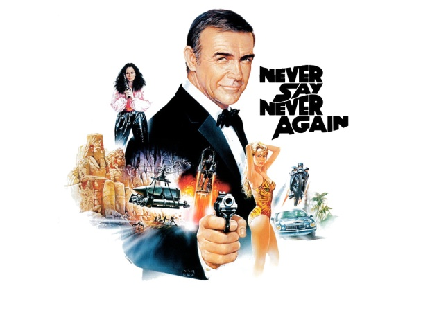 Sean Connery back as 007 in Never Say Never Again (1983)