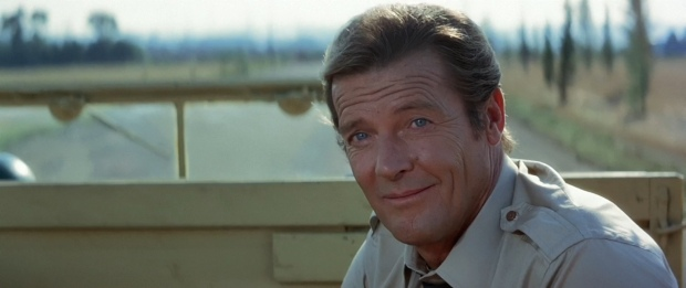 James Bond - Roger Moore still has charming as ever