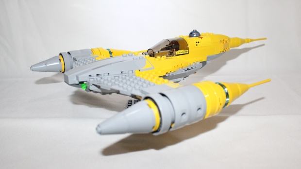 The Naboo Starfighter in all its glory