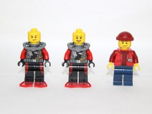 Front view of mini minus helmets