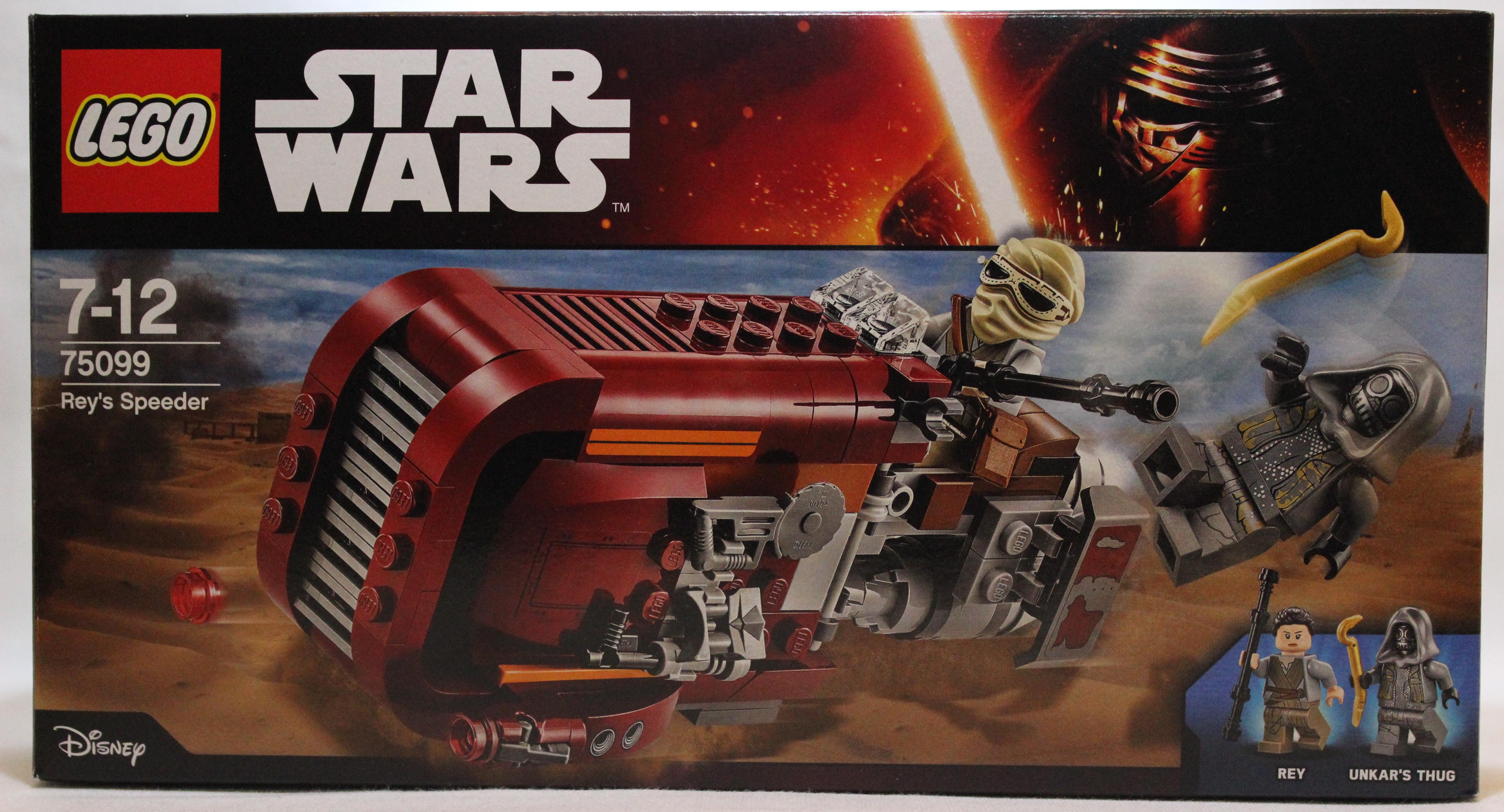 Lego star wars rey s speeder 75099 review truthfulnerd - Lego star warse ...