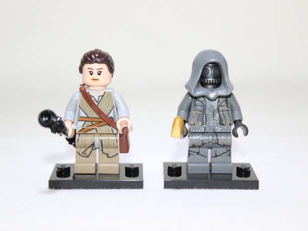 Rey and Unkar's Thug (front view)
