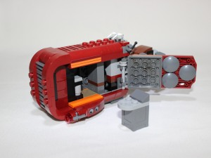 Box compartment - excellent for holding extra stud pieces