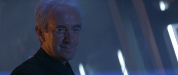 Jonathan Price as Rupert Murdoch...I mean, Elliot Carver