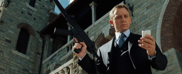 The final moment, when Craig proved himself as 007 for the new generation