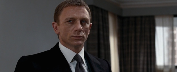Daniel Craig, always in top form as James Bond