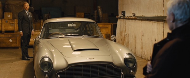 The Bond theme kicks in just at the right moments