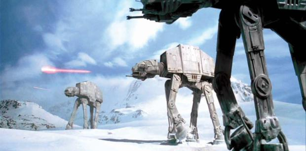 AT-AT Walkers from The Empire Strikes Back