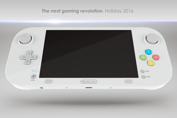 A concept image of what the Nintendo NX could be
