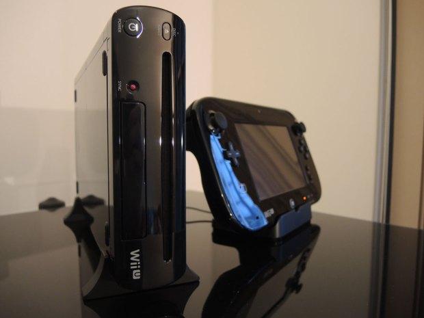 Wii U and Gamepad in charging cradle