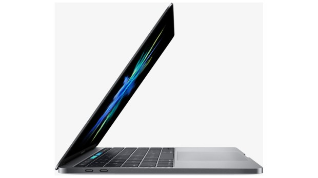 New thin design MacBook Pro with Touch Bar